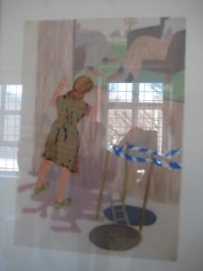 bild av Irene Westholm, utställningen You can open yuor eyes now