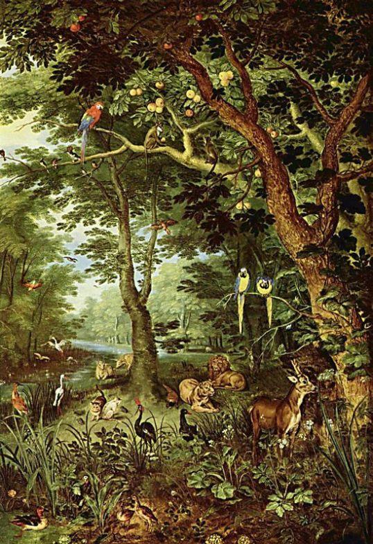 Jan Bruegel, Paradis