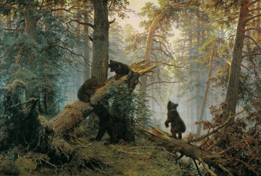 morning-in-a-pine-forest-ivan-shishkin