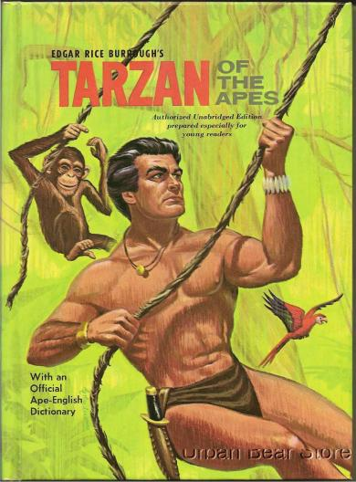 Edgar Rice Burroughs Tarzan of the Apes Whitman Cover