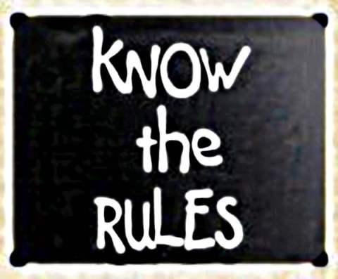 -Vet-reglerna--handskriven-med-vit-krita-på-svarta-tavlan--vintage--varning-623649